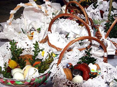 Święconka, Niepokalanów, 7 kwietnia 2012