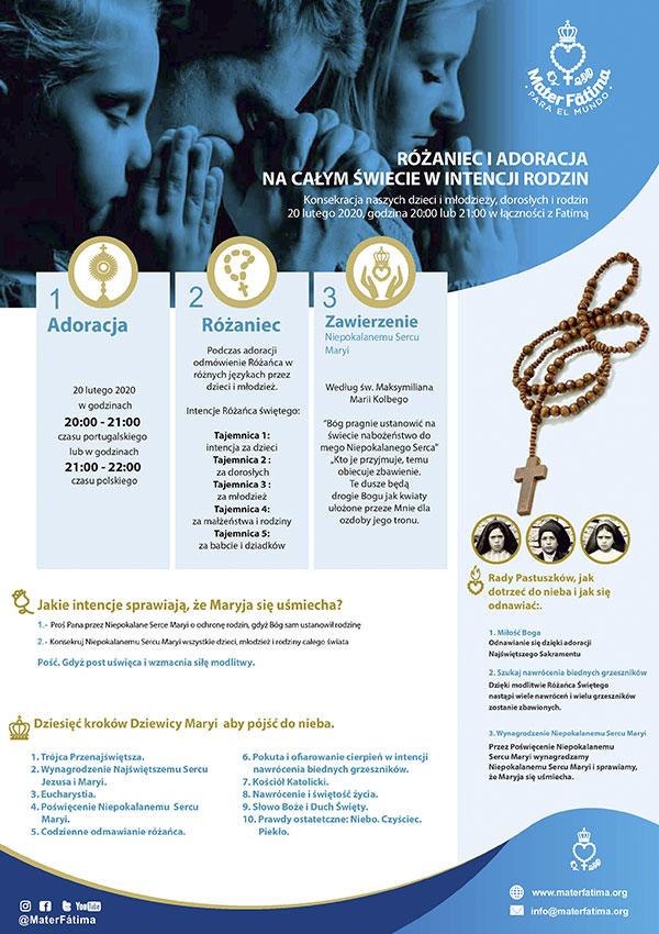 Akcja modlitewna Fatima 2020 - informacje